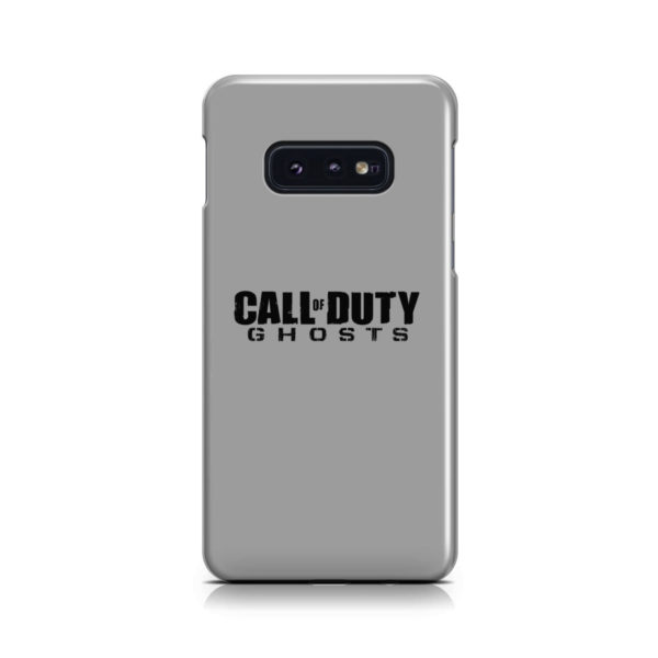 Call of Duty Ghost for Amazing Samsung Galaxy S10e Case