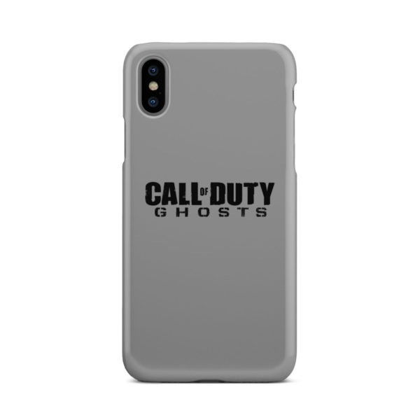 Call of Duty Ghost for Cool iPhone X / XS Case Cover
