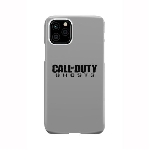 Call of Duty Ghost for Custom iPhone 11 Pro Case Cover