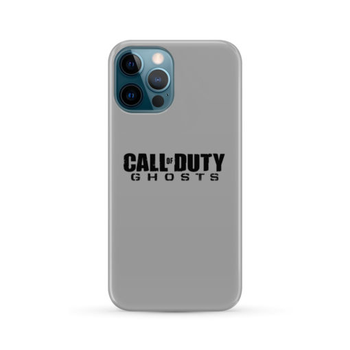 Call of Duty Ghost for Customized iPhone 12 Pro Max Case