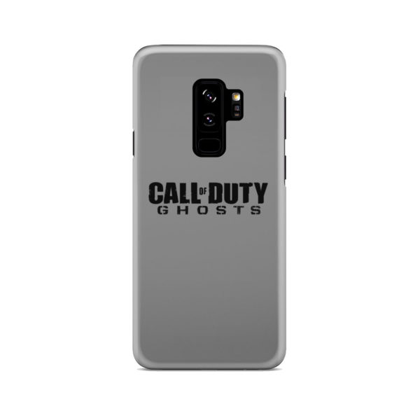 Call of Duty Ghost for Cute Samsung Galaxy S9 Plus Case Cover