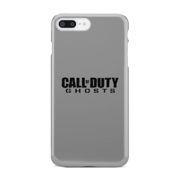 Call of Duty Ghost for Personalised iPhone 8 Plus Case