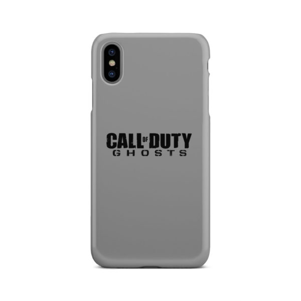 Call of Duty Ghost for Personalised iPhone XS Max Case Cover