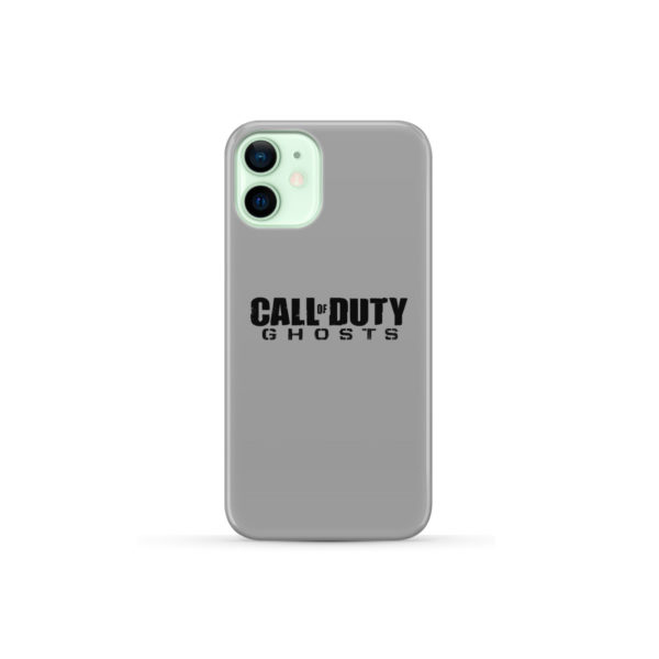 Call of Duty Ghost for Premium iPhone 12 Mini Case