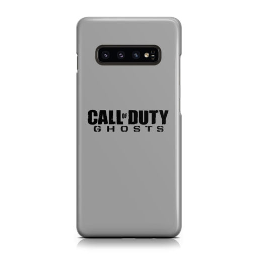 Call of Duty Ghost for Unique Samsung Galaxy S10 Case Cover