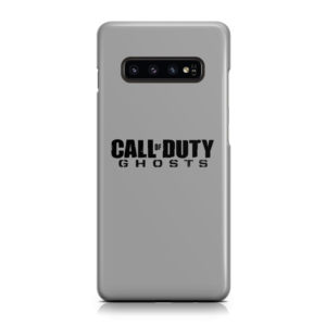 Call of Duty Ghost for Unique Samsung Galaxy S10 Plus Case