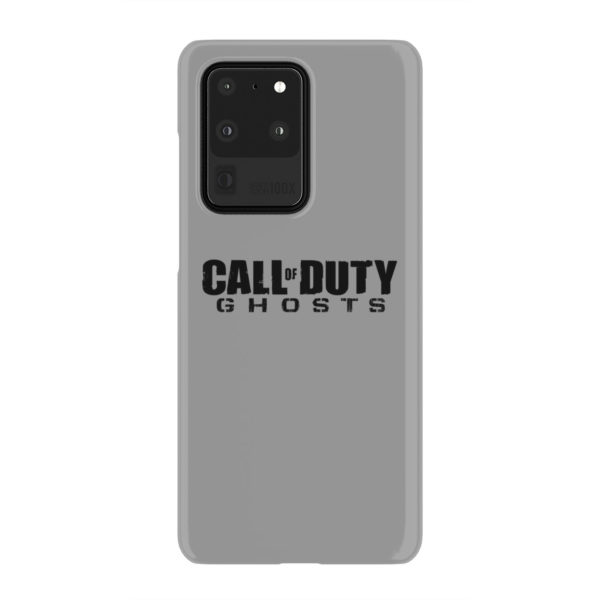 Call of Duty Ghost for Unique Samsung Galaxy S20 Ultra Case Cover