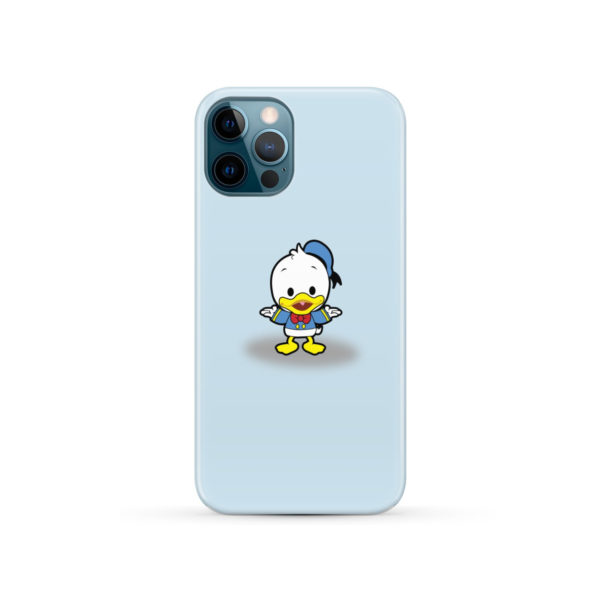 Cute Donald Duck Baby for Beautiful iPhone 12 Pro Case Cover