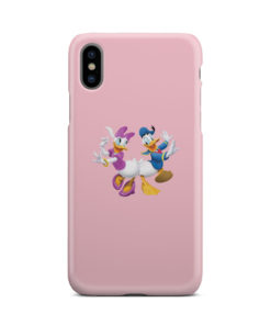 Donald Duck and Daisy for Beautiful iPhone X / XS Case Cover