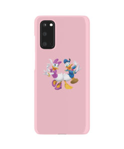Donald Duck and Daisy for Customized Samsung Galaxy S20 Case