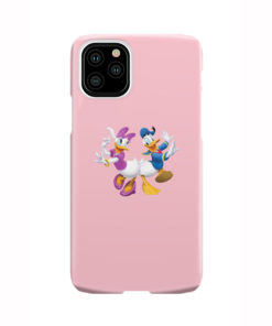 Donald Duck and Daisy for Nice iPhone 11 Pro Case