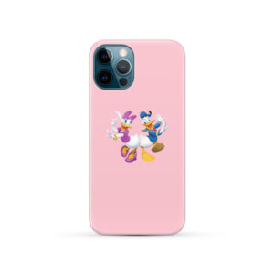 Donald Duck and Daisy for Stylish iPhone 12 Pro Case