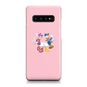 Donald Duck and Daisy for Stylish Samsung Galaxy S10 Case Cover