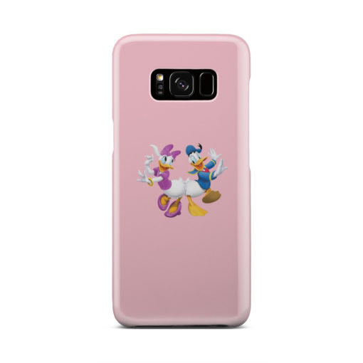 Donald Duck and Daisy for Stylish Samsung Galaxy S8 Case Cover