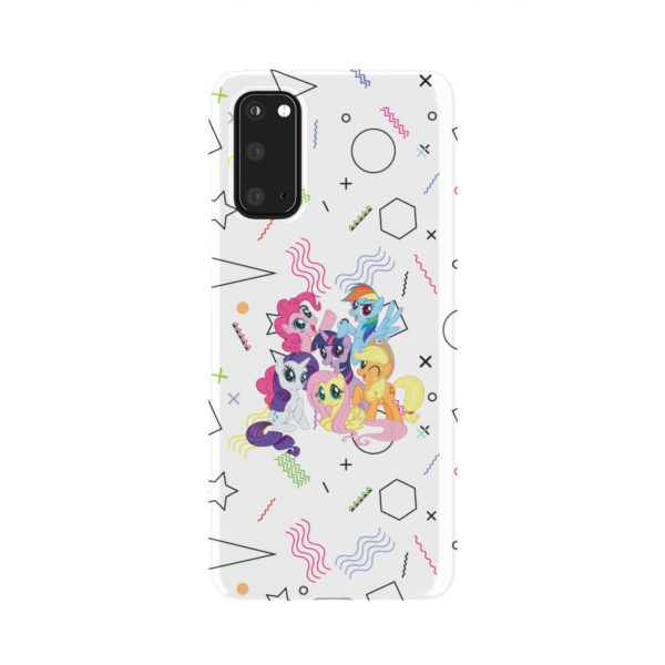 My Little Pony Characters for Beautiful Samsung Galaxy S20 Case