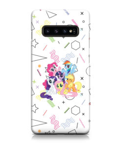 My Little Pony Characters for Customized Samsung Galaxy S10 Case