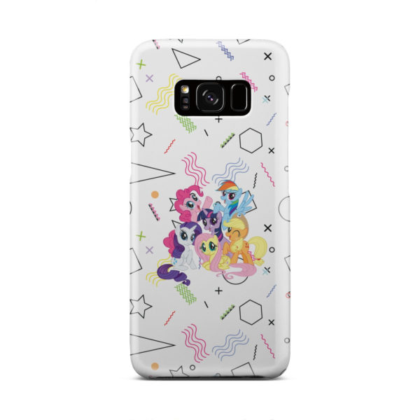 My Little Pony Characters for Customized Samsung Galaxy S8 Case