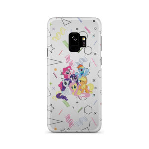 My Little Pony Characters for Customized Samsung Galaxy S9 Case
