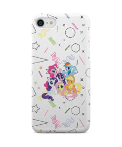 My Little Pony Characters for Personalised iPhone 7 Case