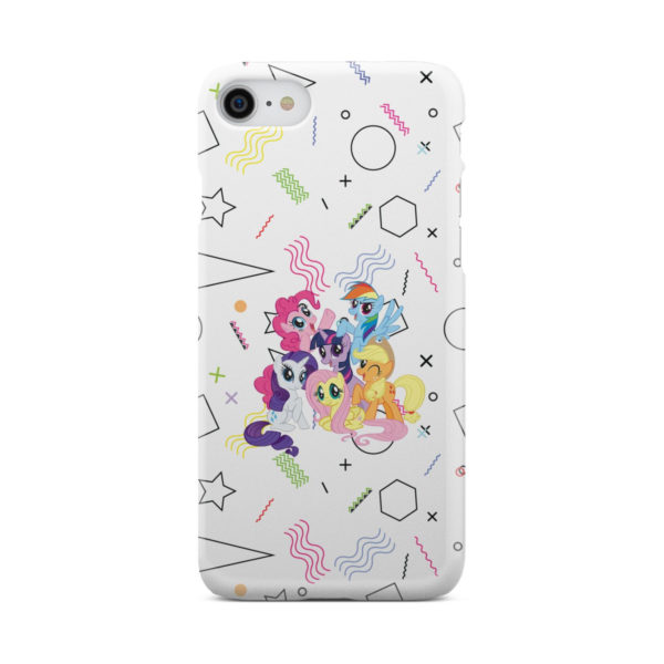 My Little Pony Characters for Personalised iPhone 8 Case