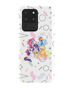 My Little Pony Characters for Premium Samsung Galaxy S20 Ultra Case