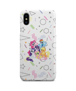 My Little Pony Characters for Simple iPhone XS Max Case Cover