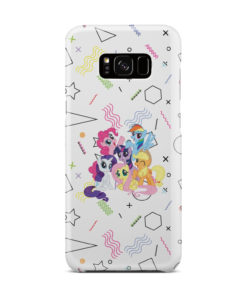 My Little Pony Characters for Simple Samsung Galaxy S8 Plus Case