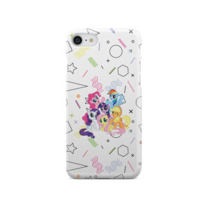 My Little Pony Characters for Stylish iPhone SE 2020 Case