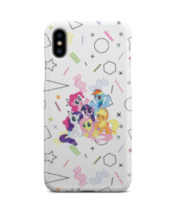 My Little Pony Characters for Stylish iPhone X / XS Case Cover