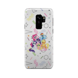 My Little Pony Characters for Stylish Samsung Galaxy S9 Plus Case Cover