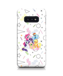 My Little Pony Characters for Trendy Samsung Galaxy S10e Case Cover