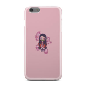 Nezuko Kimetsu No Yaiba Chibi for Custom iPhone 6 Plus Case Cover
