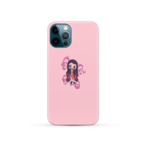 Nezuko Kimetsu No Yaiba Chibi for Newest iPhone 12 Pro Case