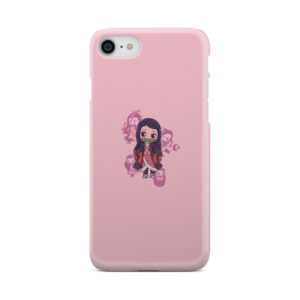 Nezuko Kimetsu No Yaiba Chibi for Personalised iPhone 7 Case Cover