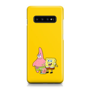 Patrick and SpongeBob SquarePants for Amazing Samsung Galaxy S10 Case