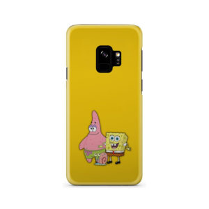 Patrick and SpongeBob SquarePants for Cool Samsung Galaxy S9 Case Cover