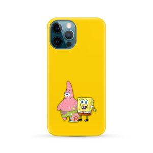 Patrick and SpongeBob SquarePants for Custom iPhone 12 Pro Max Case