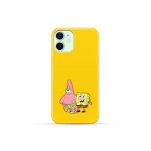 Patrick and SpongeBob SquarePants for Customized iPhone 12 Mini Case