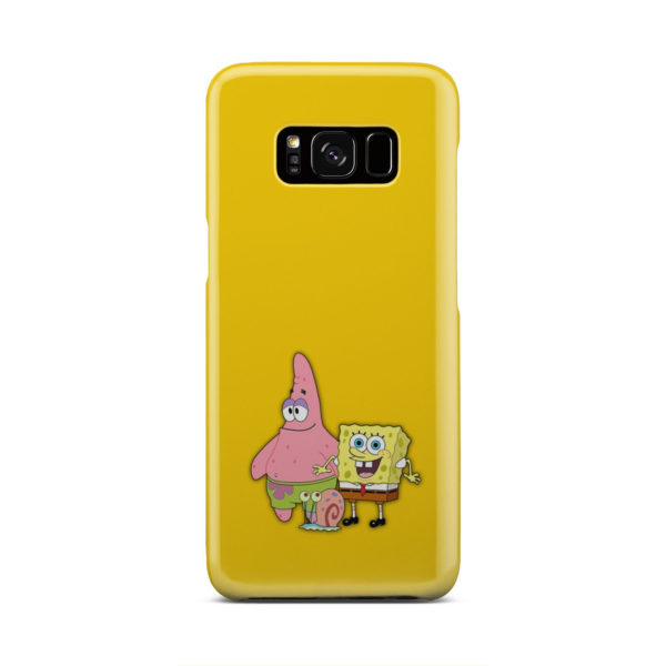 Patrick and SpongeBob SquarePants for Customized Samsung Galaxy S8 Case