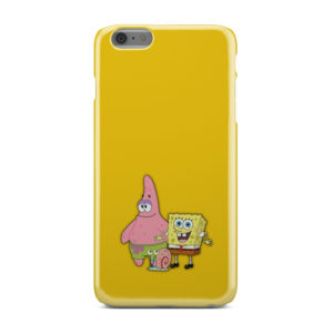 Patrick and SpongeBob SquarePants for Newest iPhone 6 Plus Case Cover