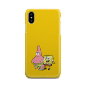 Patrick and SpongeBob SquarePants for Newest iPhone X / XS Case
