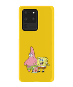 Patrick and SpongeBob SquarePants for Newest Samsung Galaxy S20 Ultra Case Cover