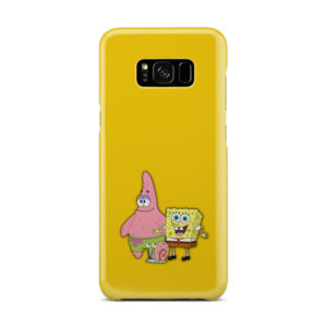 Patrick and SpongeBob SquarePants for Nice Samsung Galaxy S8 Plus Case