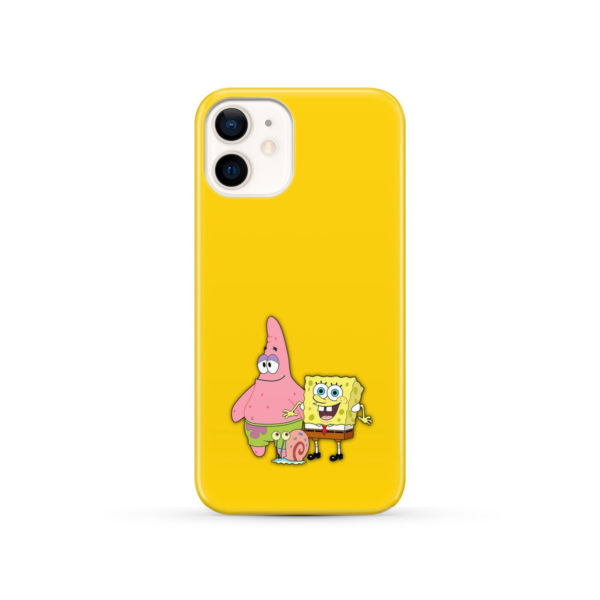 Patrick and SpongeBob SquarePants for Stylish iPhone 12 Case
