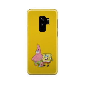Patrick and SpongeBob SquarePants for Trendy Samsung Galaxy S9 Plus Case Cover