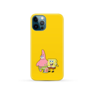 Patrick and SpongeBob SquarePants for Unique iPhone 12 Pro Case