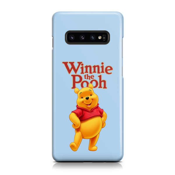 Winnie The Pooh for Unique Samsung Galaxy S10 Plus Case Cover