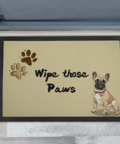 Awesome Wipe Those Muddy Paws Front Doormats