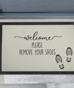 Best Please Remove Your Shoes Extra Large Doormats