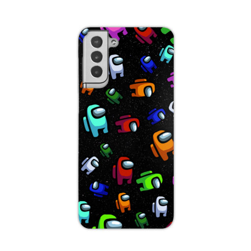Among Us Pattern for Personalised Samsung Galaxy S21 Plus Case